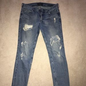 Men's PacSun Distressed Skinny Jeans